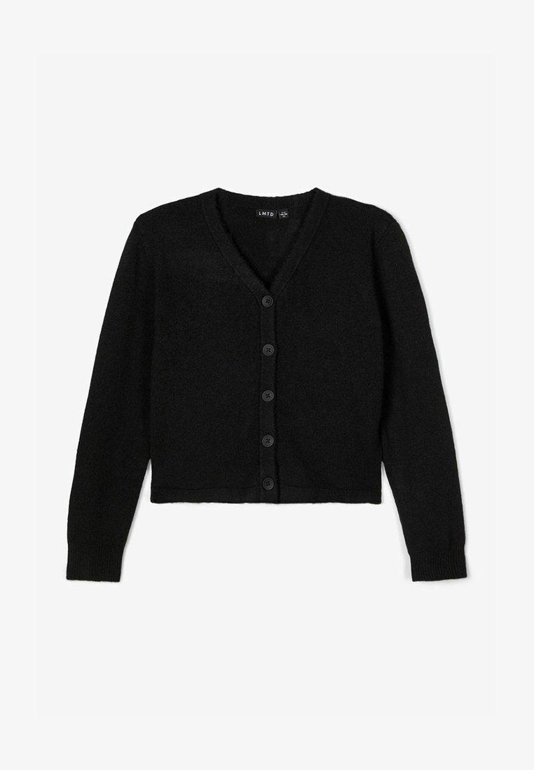 LMTD - Strikjakke /Cardigans - black