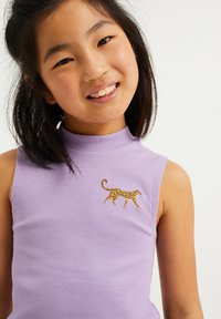 WE Fashion - EMBROIDERY - Top - lilac - 2