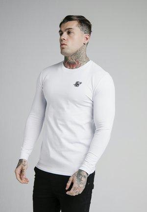 LONG SLEEVE GYM TEE - Långärmad tröja - grey marl