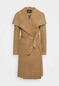 ONLY - ONLNEWPHOEBE DRAPY COAT - Płaszcz wełniany /Płaszcz klasyczny - camel - 4