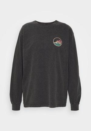 SKATE GRAPHIC TEE - Bluzka z długim rękawem - washed black