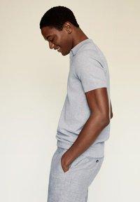 Mango - ANDREW - Poloshirt - medium heather grey - 4