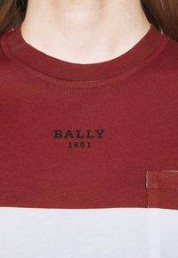 Bally - Triko spotiskem - red - 6