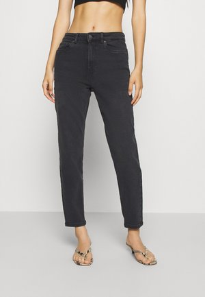 VMJOANA MOM - Jeansy Relaxed Fit - black