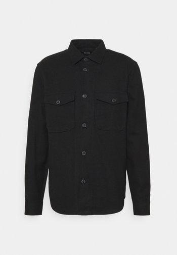 ONSMILO LIFE SOLID OVERSHIRT - Skjorta - black
