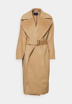 BLEND BELTED COAT - Klasický kabát - warm khaki