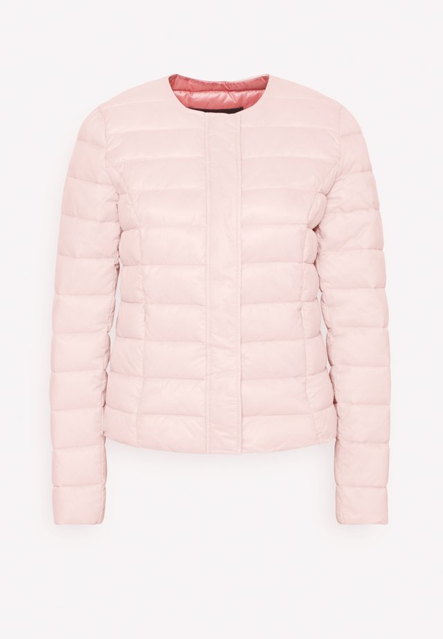 VMSORAYAZIP SHORT JACKET - Light jacket - sepia rose