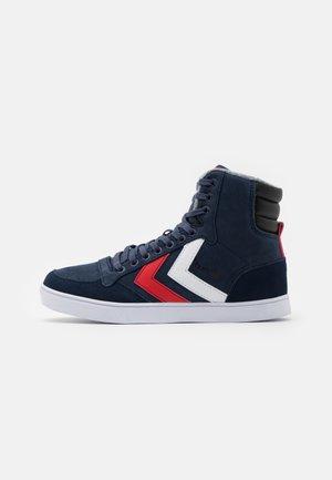SLIMMER STADIL DUO OILED UNISEX - Sneakers high - black iris