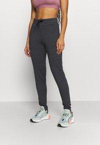 ONLY Play - ONPORLANA PANTS - Pantalones deportivos - black melange - 0