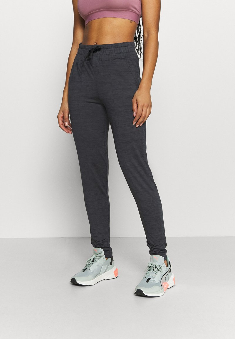 ONLY Play - ONPORLANA PANTS - Pantalones deportivos - black melange