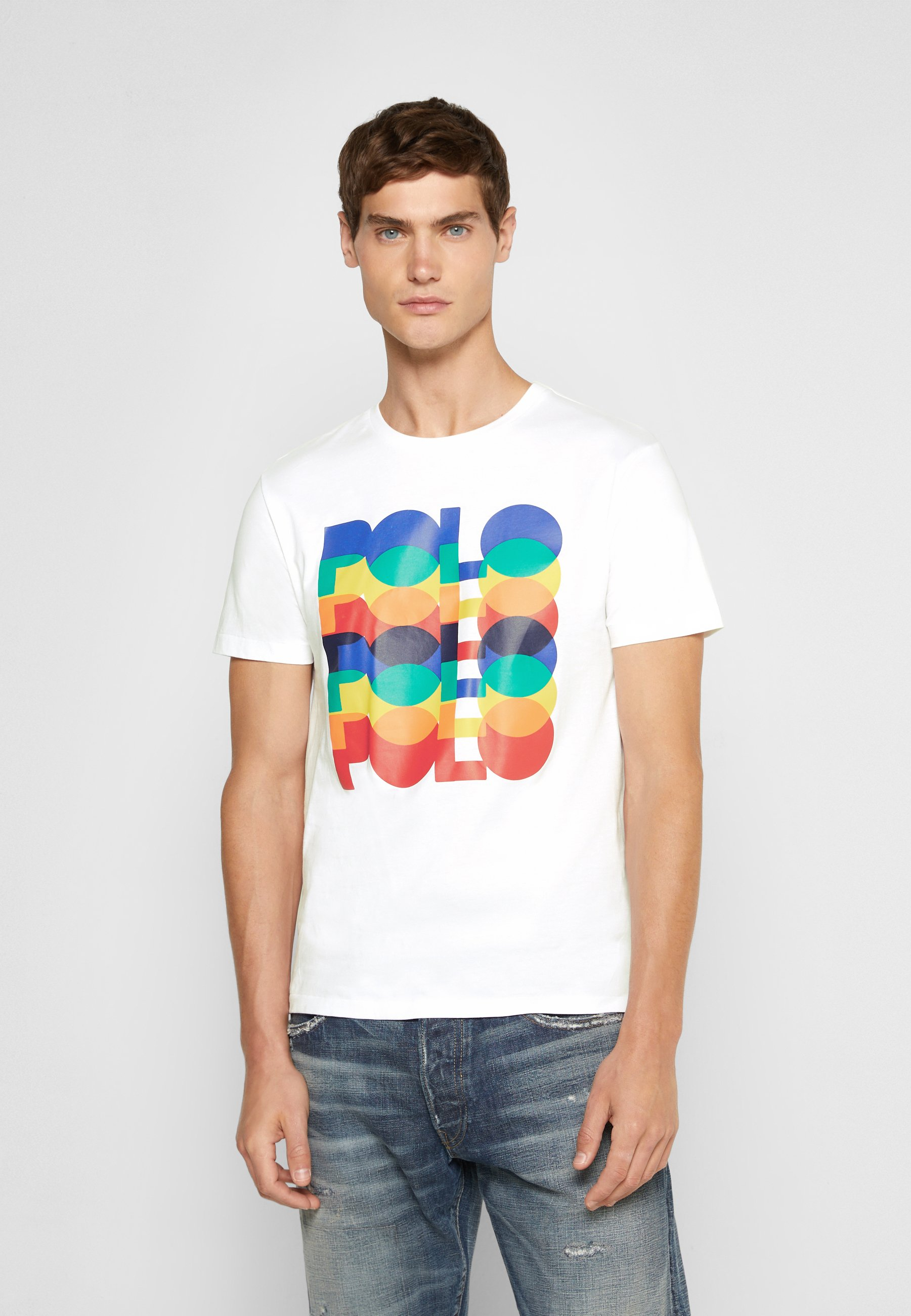 Men CUSTOM SLIM FIT LOGO JERSEY T-SHIRT - Print T-shirt