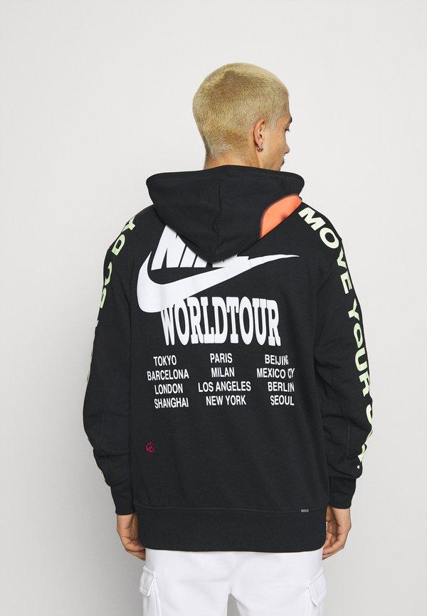 Nike Sportswear HOODIE - Bluza z kapturem - black/czarny Odzież Męska RULN