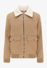 DreiMaster - Light jacket - beige melange - 4