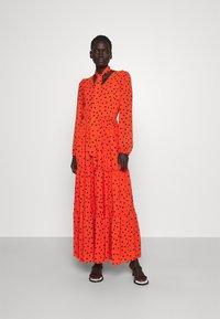 HUGO - KEBRIA - Maxi dress - open miscellaneous - 0