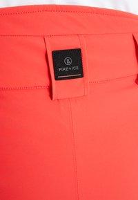 Bogner Fire + Ice - FELI - Spodnie narciarskie - orange - 4
