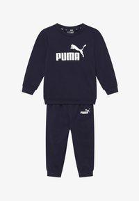 Puma - MINICATSS CREW JOGGER SET - Trainingsanzug - peacoat - 3