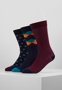 Pier One - 3 PACK - Calcetines - multi-coloured - 0