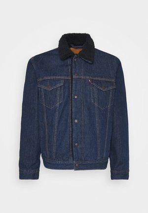 TYPE 3 SHERPA TRUCKER - Denim jacket - evening