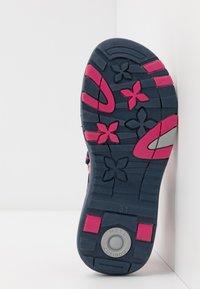 KangaROOS - K-LANE - Walking sandals - dark navy/daisy pink - 5