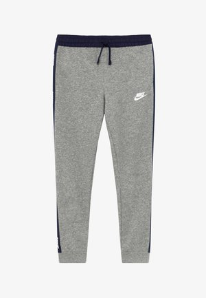 HYBRID PANT - Tracksuit bottoms - grey heather/midnight navy/white