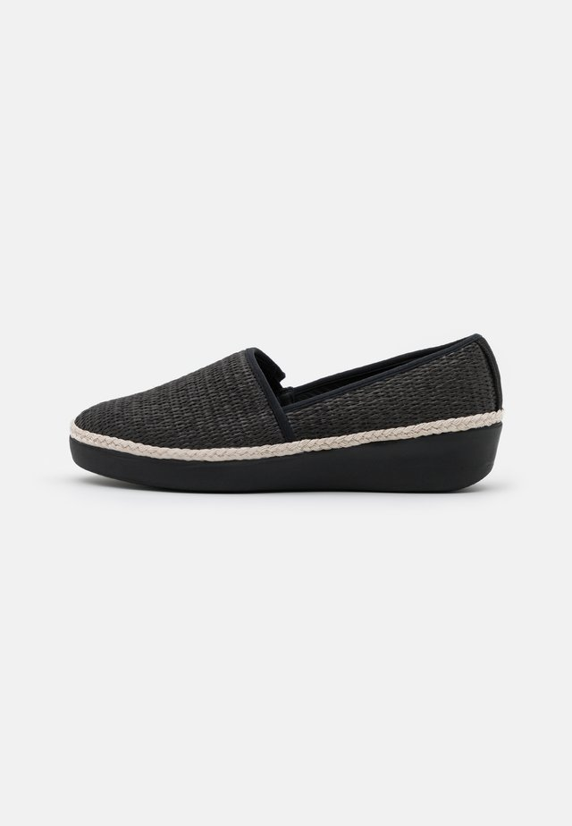 CASA LOAFERS - Slippers - black