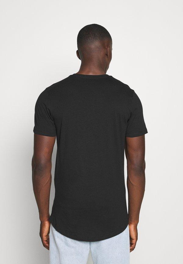 Jack & Jones JJENOA - T-shirt basic - black/czarny Odzież Męska MJPI