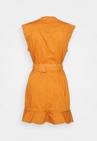 Pinko - ATTIVO ABITO PESANTE - Day dress - mustard yellow - 1