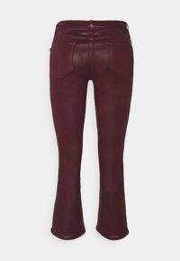 J Brand - SELENA MID RISE CROP - Bootcut jeans - stellar courant - 1