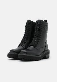 Buffalo - QUEENETH - Lace-up ankle boots - black - 2