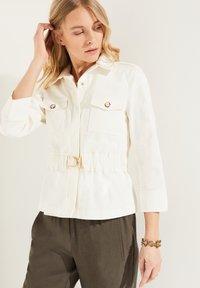 comma - Summer jacket - white - 0