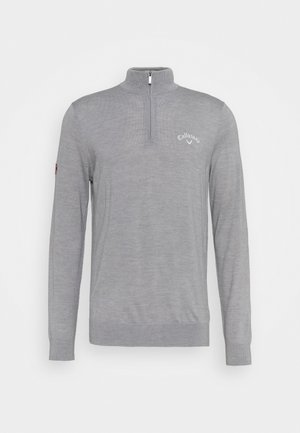 BLENDED - Jumper - steel heather