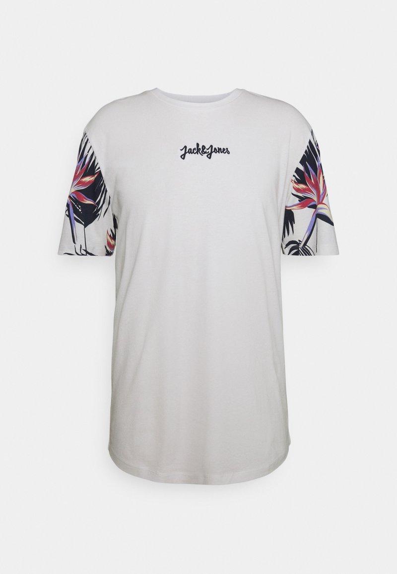 Jack & Jones - JORSUNDAY TEE CREW NECK - Print T-shirt - cloud dancer