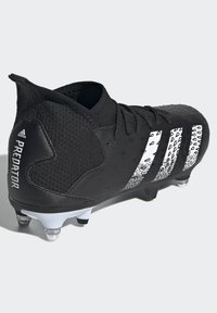 adidas Performance - PREDATOR - Moulded stud football boots - black - 1
