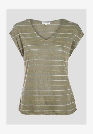 Print T-shirt - vert kaki
