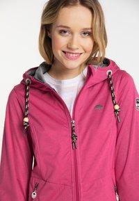 Schmuddelwedda - Outdoor jacket - dark pink - 3