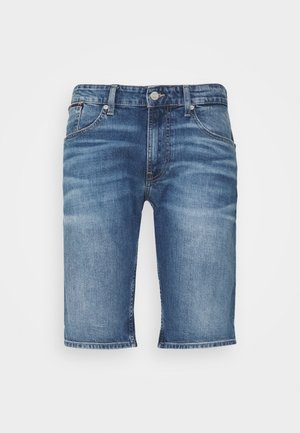 RONNIE RELAXED  - Szorty jeansowe - blue denim