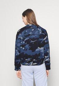 G-Star - LOOSE FIT CAMO CREWNECK - Sweater - faze blue multi - 2