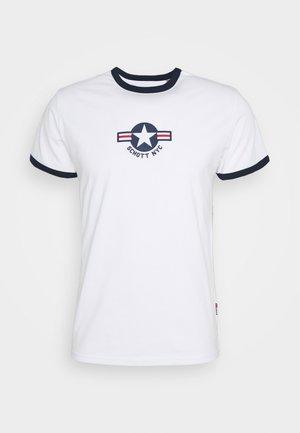 TSRANKS - T-shirt print - white