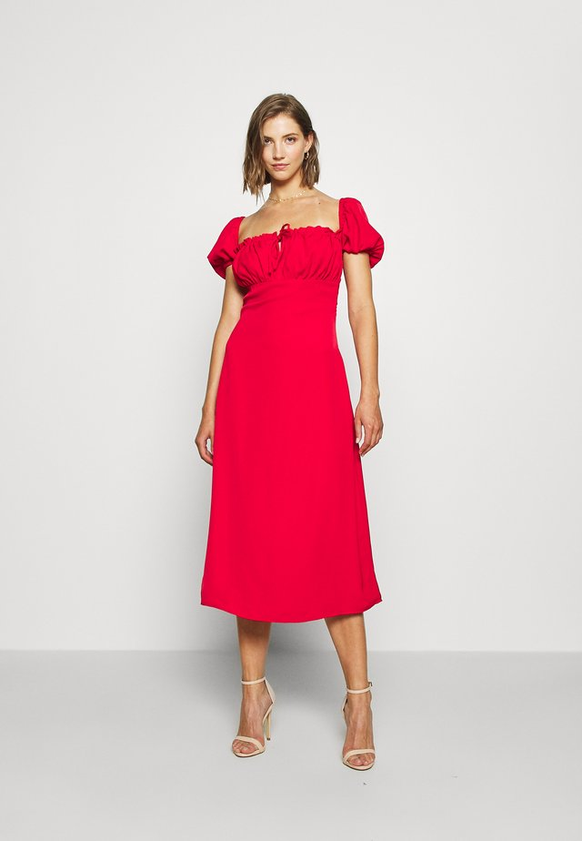 AMERICA - Day dress - red