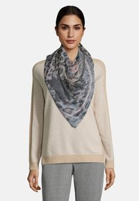 Betty Barclay - MIT LEOPRINT - Foulard - grau/camel - 0