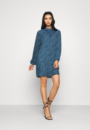 PEARL L/S WVN - Day dress - black