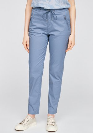 Trousers - powder blue