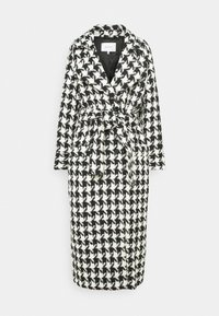 Gestuz - UNNAGZ COAT - Classic coat - black/white - 4