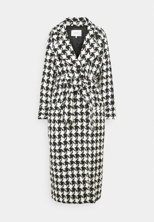 UNNAGZ COAT - Classic coat - black/white