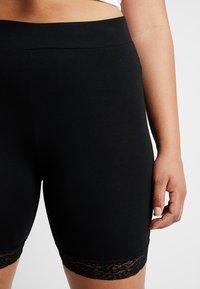 ONLY Carmakoma - CARTIME SHORTS  - Shorts - black - 4