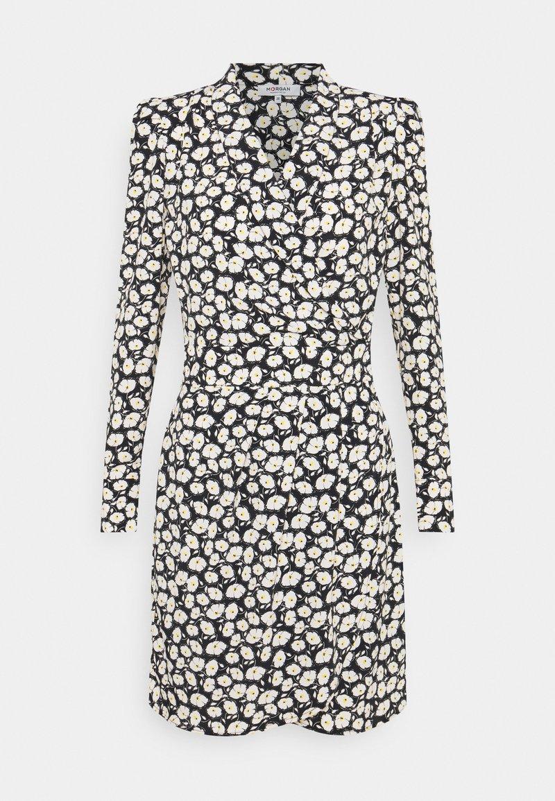 Morgan - RENNA - Day dress - noir
