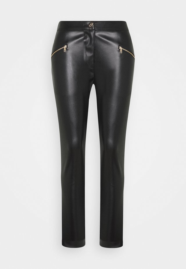PANTALONE SKINNY - Leggings - black