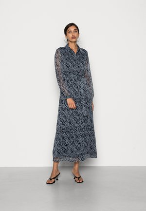 VMRYLEE MALLY ANKLE DRESS - Shirt dress - flint stone