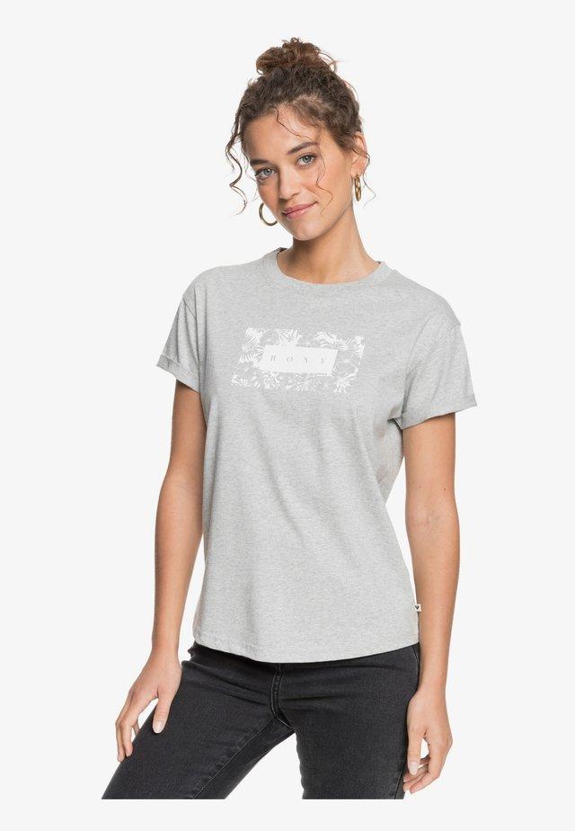 EPIC AFTERNOON CORPO - T-shirt imprimé - heritage heather