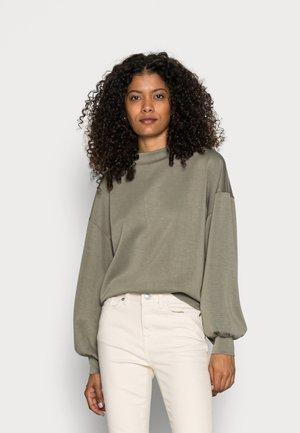 SWEATER - Sweatshirt - dark khaki
